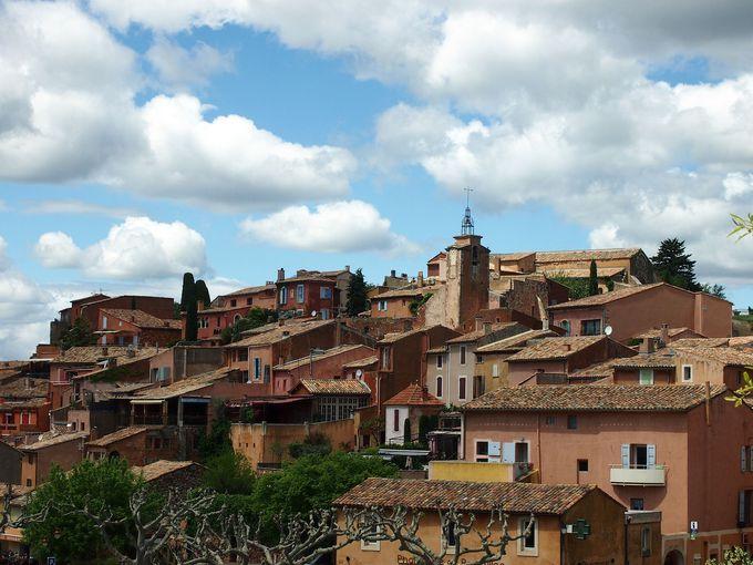 フランスの最も美しい村の一つとして有名な『ルシヨン(Roussillon)』