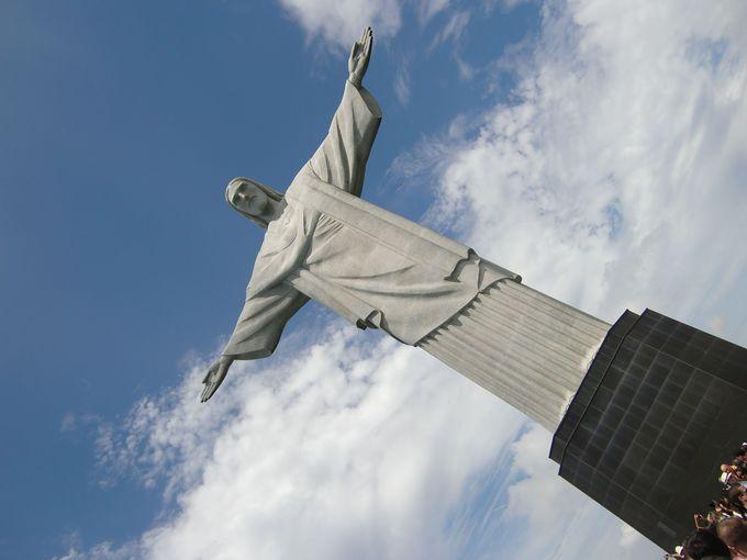 1.コルコバードの丘(リオデジャネイロ)