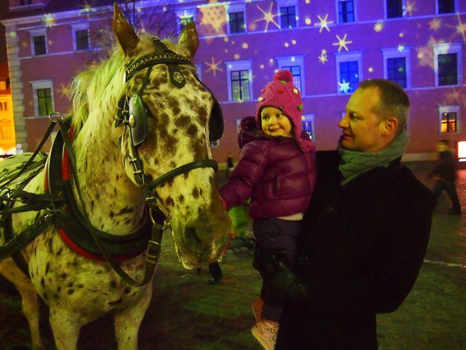 ワルシャワは夜の散歩も楽しめる!