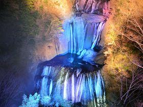 氷瀑にライトアップ!光と音の大子来人で袋田の滝は冬もすごい!