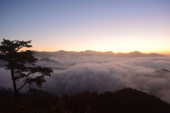 神様に出会えそう!雲海を拝む「国見ヶ丘」