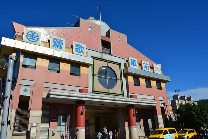 ノスタルジックな駅が陶器街の始まり