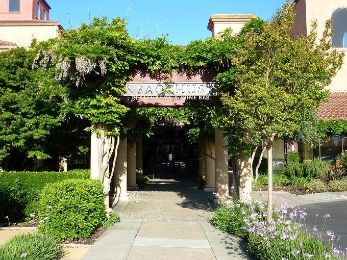 カリフォルニアワインの名産地にあるホテル