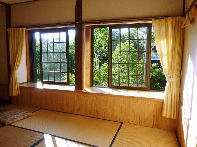 清々しい風の満ちる和室で静かな眠りを