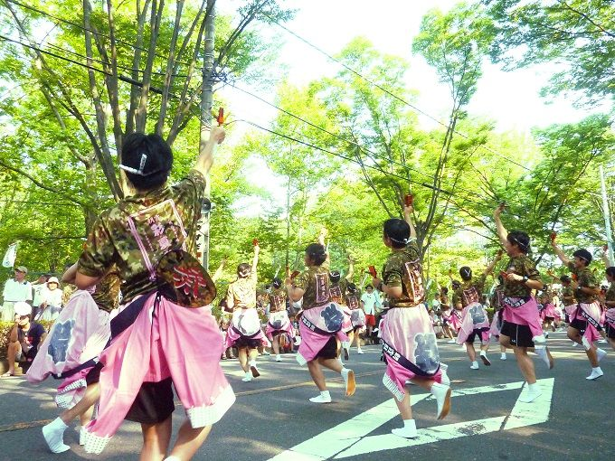 本州最古のよさこい鳴子踊り!埼玉県朝霞市「彩夏祭」パワフルな流し踊りで猛暑を吹き飛ばそう!