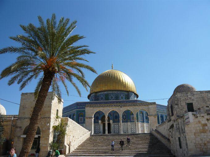 イスラム教徒の祈りの場「岩のドーム」