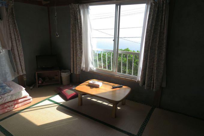 窓から海の見えるお部屋