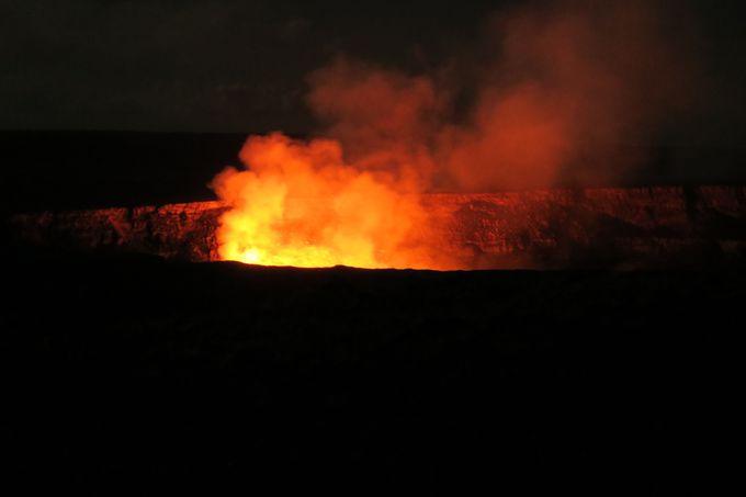 1.キラウエア火山国立公園