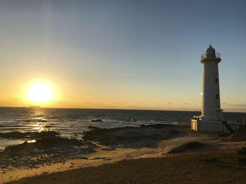 夕日と灯台が美しい愛知県・美浜町「野間灯台」はドライブ・デートにも最適!