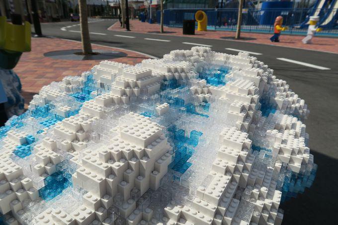 レゴ(R)の水しぶき!