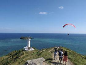 ドライブにおすすめ!石垣島最北端「平久保崎灯台」どこまでも続くエメラルドグリーン