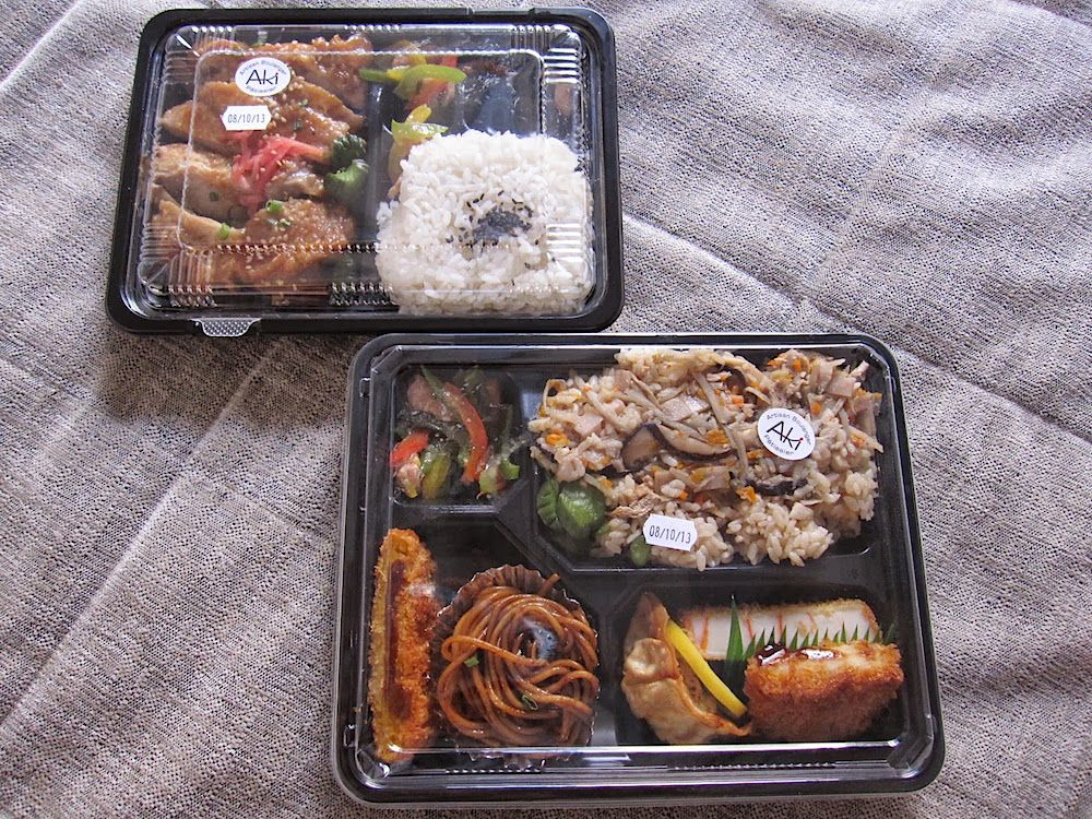 パリで仏料理に疲れたら日本のお弁当をホテルの部屋でどう?