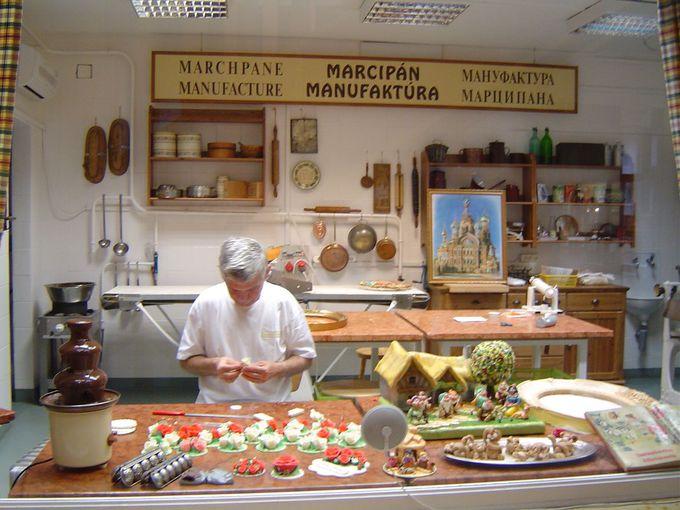 マジパン博物館とマジパン工場