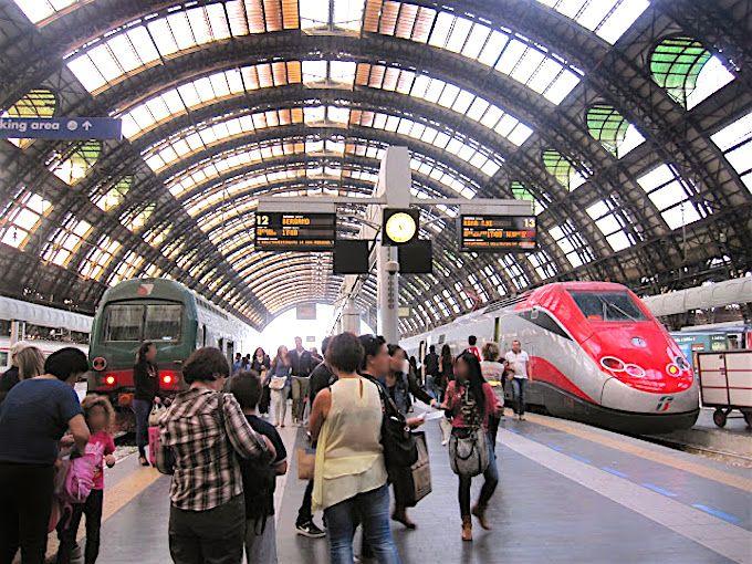 ミラノ鉄道中央駅の歴史