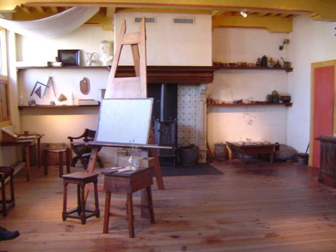 赤レンガの家の中に広がるのはレンブラントの世界