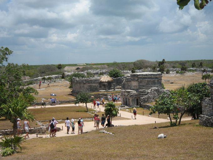 マヤ遺跡の中で特異な存在
