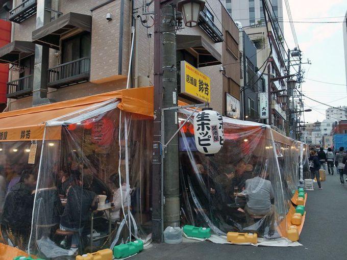 浅草の裏観光名所「ホッピー通り」で屋台飲み