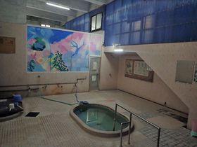 レトロでアートな異空間!東別府駅前「東町温泉」で電車の待ち時間にひとっ風呂