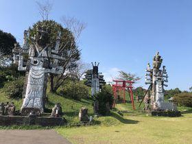 スーパーおじいちゃん作!宮崎「高鍋大師」の型破りな石像群
