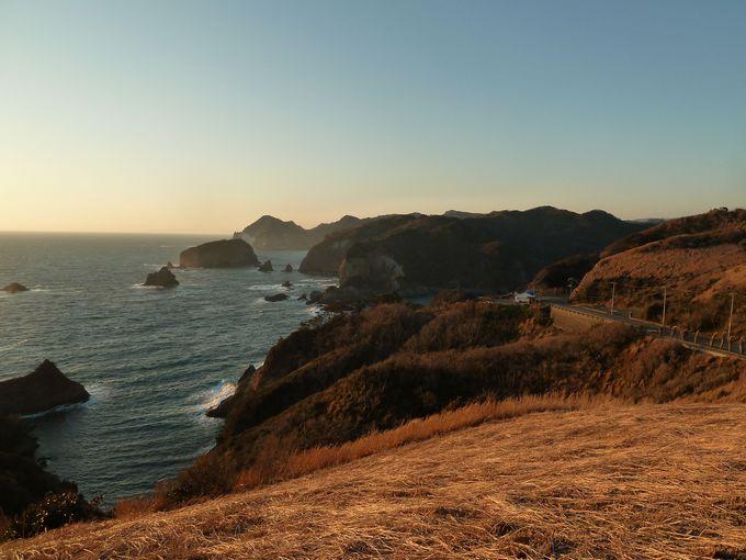 最後は南伊豆エリアイチオシの夕陽スポット、あいあい岬へ!