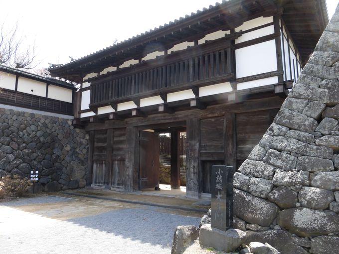 小諸城の遺構は駅の反対側にも!小諸城「大手門」