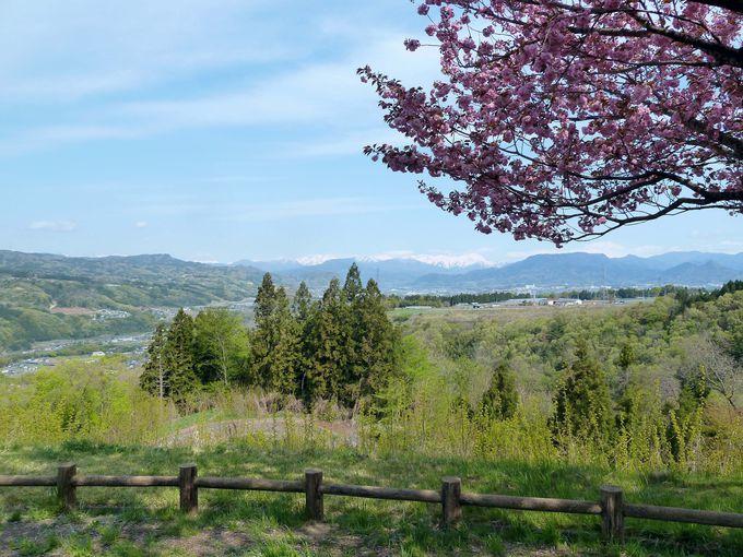 赤城高原サービスエリアから望む谷川連峰の雪景色!