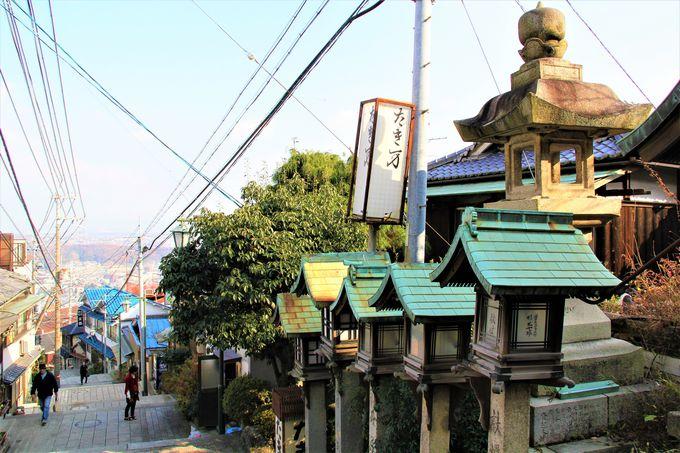 寅さんも美人芸者とデートした!旧遊郭街の面影残す「宝山寺」の旅館街
