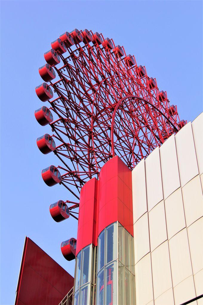 HEP FIVEの赤い観覧車(梅田)