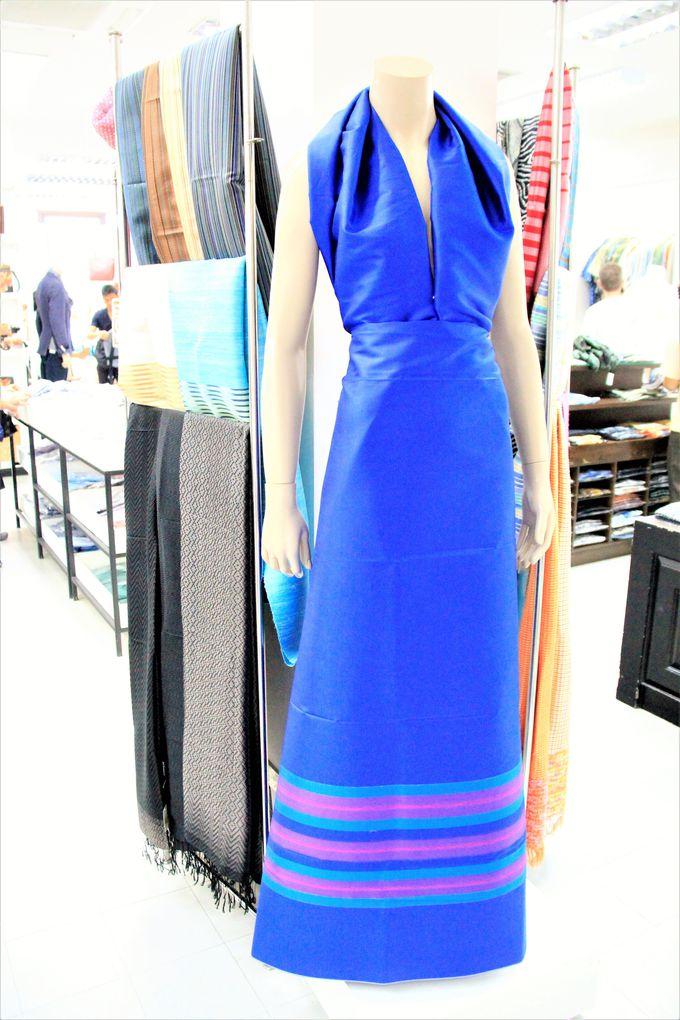 洗練されたファッションのジム・トンプソン(Jim Thompson)!高級タイシルクの婦人服も安い