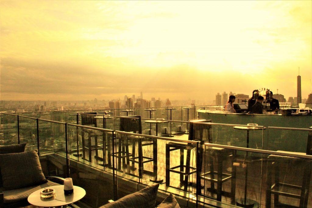 「オクターブ」(Octave Rooftop Bar)はバンコク絶景のルーフトップバー