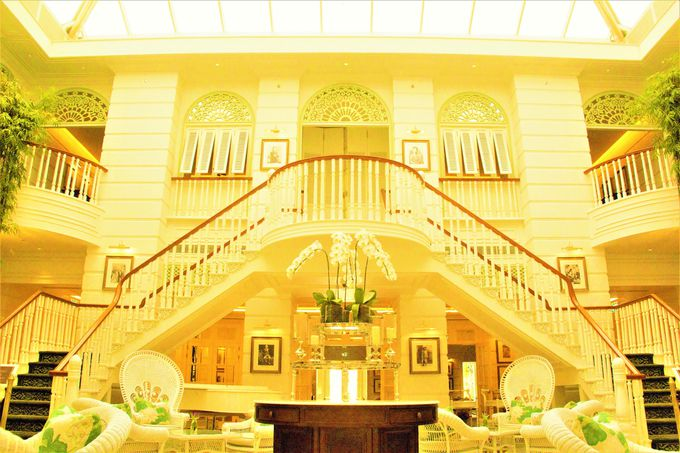 アフタヌーンティーの「オーサーズ ラウンジ」で人気のホテル!「マンダリン オリエンタル バンコク」