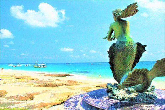 バンコクから一番近い、青い海と白いビーチ「サメット島」