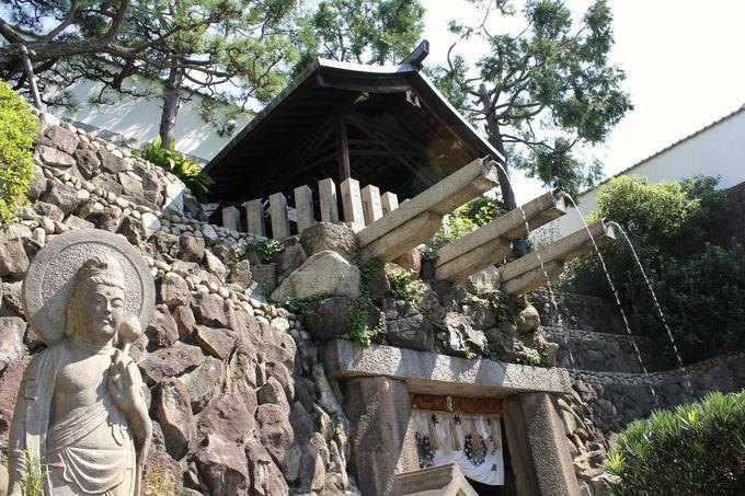 """大阪市内で唯一の天然の滝""""玉出の滝"""""""