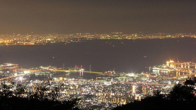 """まるで地上に舞い降りた""""天の川"""" 六甲山ホテルから眺める「1000万ドルの夜景」"""
