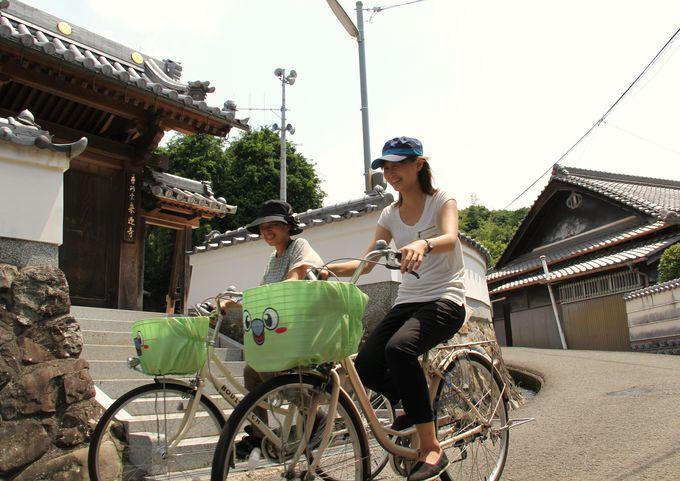 熊取町を巡るなら、レンタサイクル「メジちゃり」が便利!
