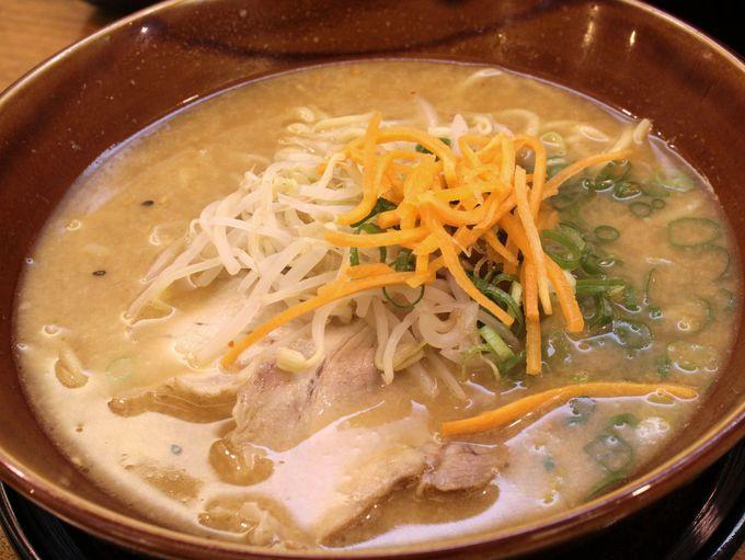 【第4位】古潭(こたん)のラーメン 特性の白濁スープはおススメ