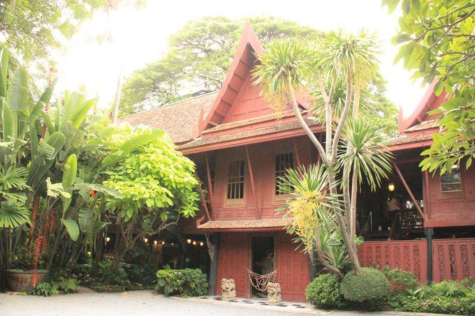 8.ジム・トンプソンの家