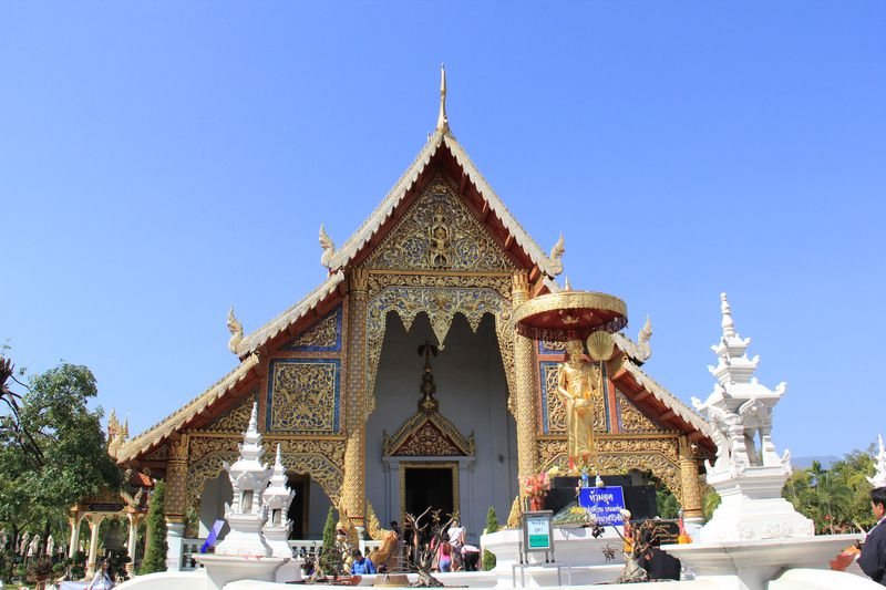 チェンマイで最も高い格式を誇る寺院「ワット・プラ・シン」