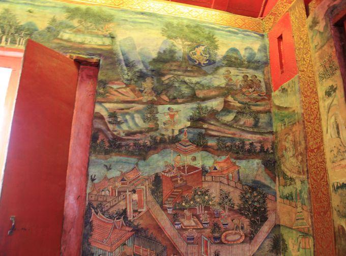 礼拝堂の古典的な壁画。ランナー文化の最高傑作!