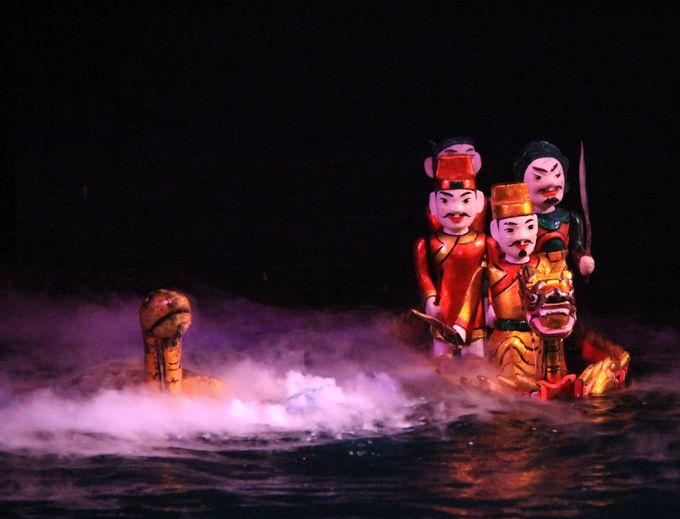 11.タンロン水上人形劇場