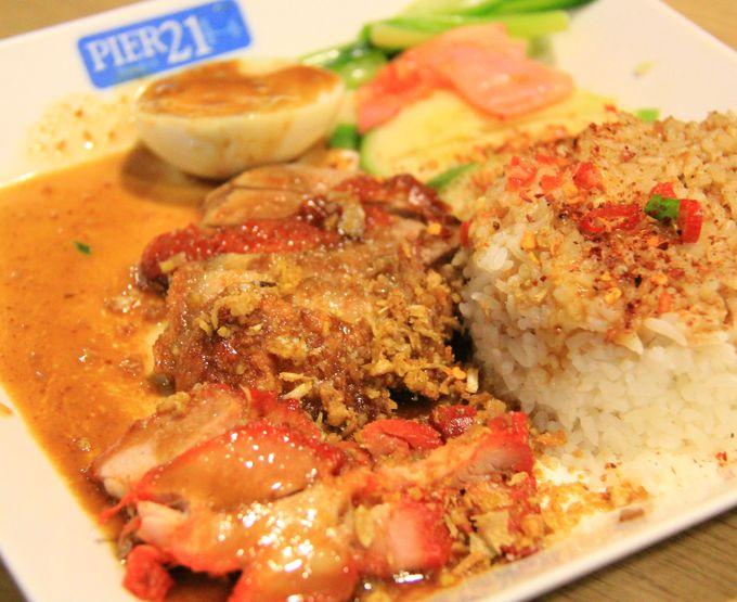 カオマンガイのボリュームも味も最高!ターミナル21の「 PIER (ピア)21」