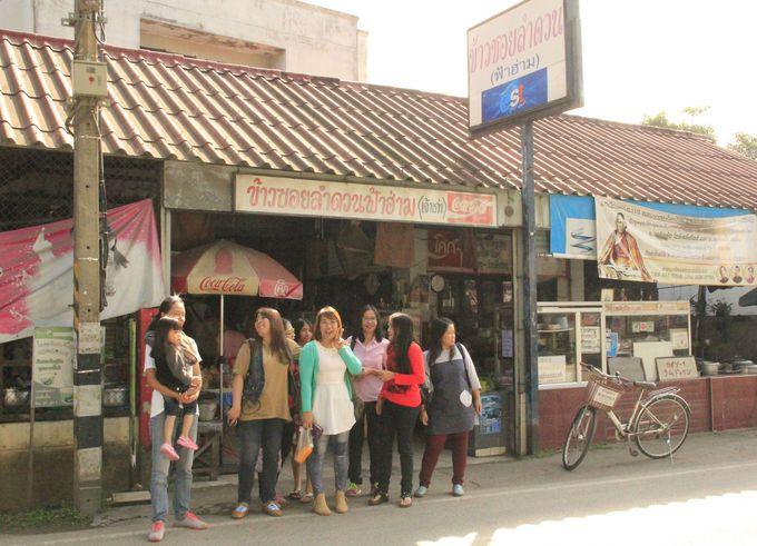 カオ・ソーイの老舗レストラン「ラムドゥアン・ファーハーム」