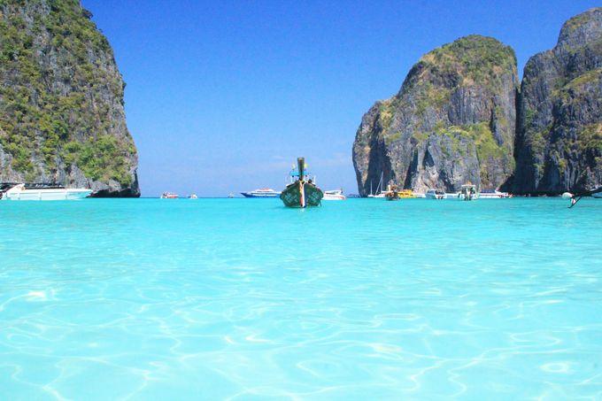 透明に近い青い水!絶好のシュノーケリングポイント