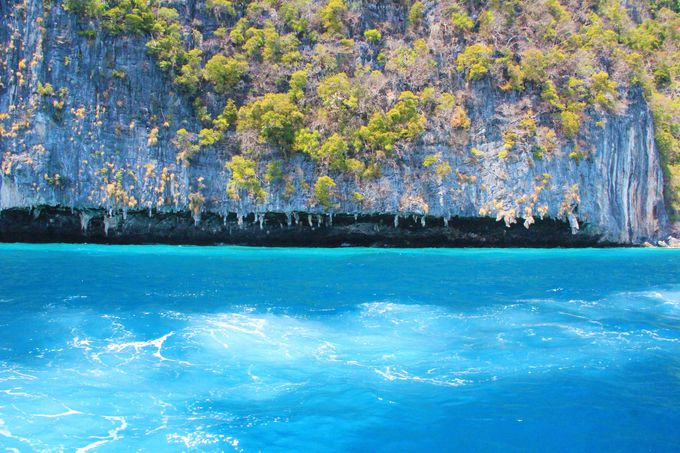 手つかずの自然が残るタイの秘島「ピピ・レイ島」