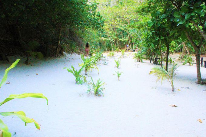 """新雪のような真っ白いビーチ!広がる""""永遠の楽園""""の世界"""