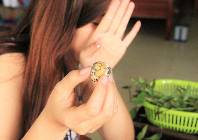 スナック菓子がわりにぽりぽり!ベトナム女性にはたいへん人気
