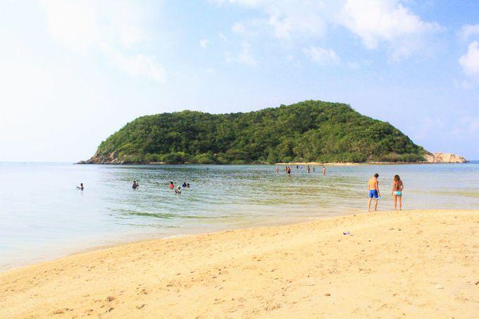 """ひょうたん島""""のように可愛い!パンガン島の秘境ビーチ「マー島」"""