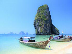 陸の孤島!ボートでしか行けない聖域!タイ・クラビ「プラナンビーチ」