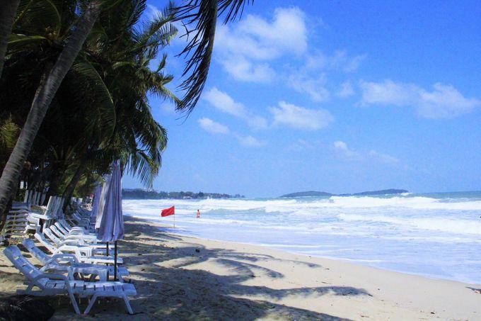青い海!美しいビーチ!サムイ島を代表する「チャウエンビーチ」