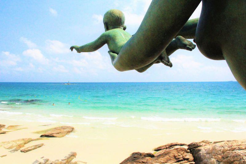 鳴き砂と青い海!サメット島の絶景ビーチ「サイケオ・ビーチ」